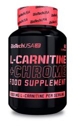 BioTech L-Carnitine+Chrome (60 капс)
