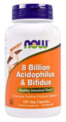NOW 8 Billion Acidoph/Bifidus (120 кап)