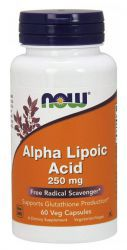 NOW Alpha Lipoic Acid 250 mg (60 кап)