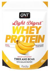 Протеин QNT Light Digest Whey, банан  (500 г)