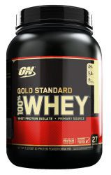 Протеин Optimum Nutrition 100 % Whey protein Gold standard 2 lb Ваниль (907 г)