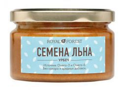Урбеч из белого льна (200 г), Royal Forest