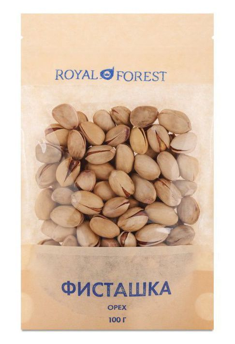 Фисташки (100 г), Royal Forest