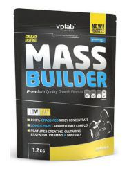 VpLab Mass Builder, банан, пакет (1200 г)
