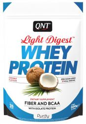 Протеин QNT Light Digest Whey, кокос  (500 г)