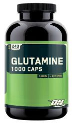 Optimum Nutrition Glutamine caps 1000 mg. (240c)