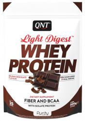 Протеин QNT Light Digest Whey, шоколад  (500 г)