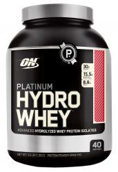 Протеин Optimum Nutrition Platinum  HydroWhey 3.5 lb  Печенье и крем (1590 гр)