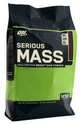 Optimum Nutrition Serious Mass 12lb Клубника (5455 г)