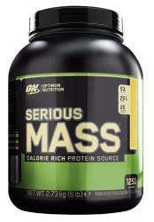 Optimum Nutrition Serious Mass 6lb Шоколад (2727 г)