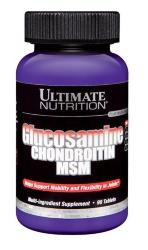 Ultimate Nutrition Glucosamine & Chondrotin & MSM (90 таб)