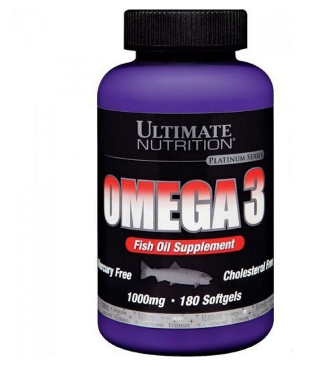 Ultimate Nutrition Omega-3 1000 mg ( 180 caps )