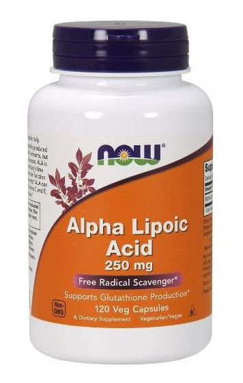 NOW Alpha Lipoic Acid 250 mg (120 кап)