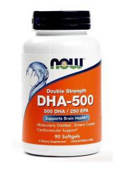 NOW DHA 500 mg (90 кап)