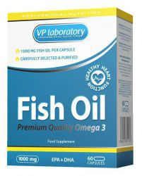 VPLab Fish Oil 1000 мг (60 кап)