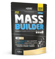 VpLab Mass Builder, ваниль, пакет (1200 г)