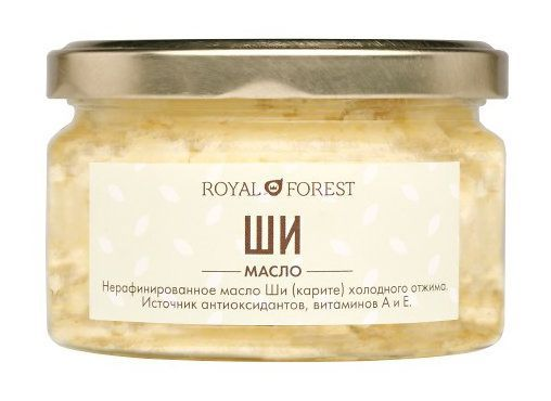 Масло Ши (карите) (150 г), Royal Forest