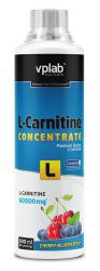 VpLab L-carnitine Concentrate Вишня-черника, (500мл)