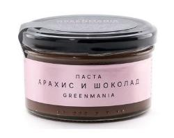 Паста арахис и шоколад GreenMania (150 г)